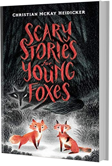 books like diary of a wimpy kid: scary stories for young foxes